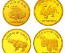 青铜器第1组1/4盎司圆形金质纪念最新价格和回收价格