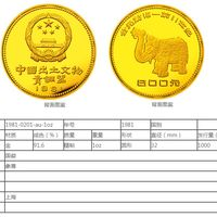 青铜器第1组1盎司金纪念币最新价格跟回收价格