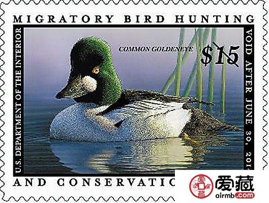 联邦鸭子邮票