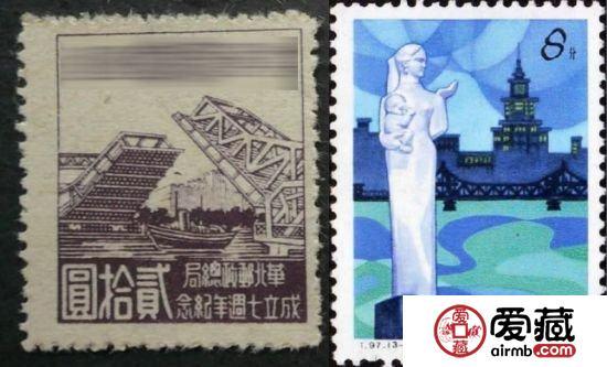 邮票上的天津解放桥