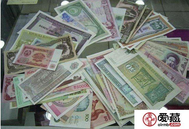 外国纸币收藏势头隐现