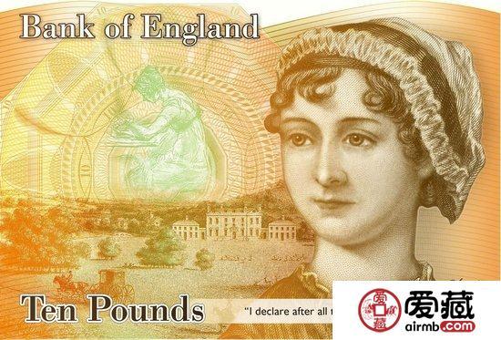 简·奥斯汀取代达尔文,将登英国10英镑纸币