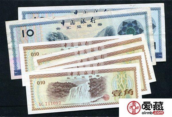 外汇券成历史遗物,收藏价值凸显