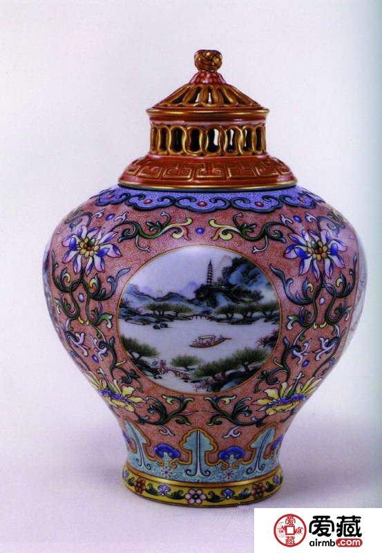 明清官窑彩瓷