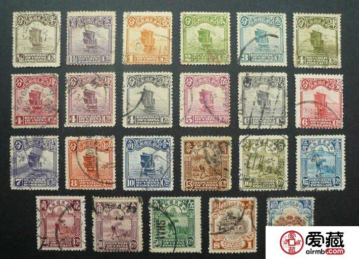 中国民国邮票概述