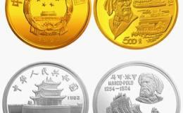 马可·波罗纪念币图片鉴赏