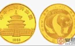 1983年版中国熊猫金币图片鉴赏