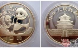 1983年版中国熊猫银币图片鉴赏