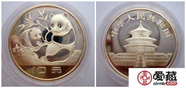 1983年版中国熊猫银币