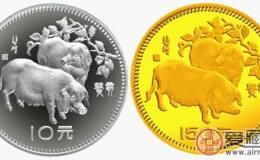 中国癸亥(猪)年生肖纪念币图片鉴赏