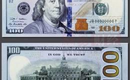 新版百元美钞昨日上市引关注 !