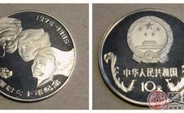 国际妇女十年纪念币图片鉴赏