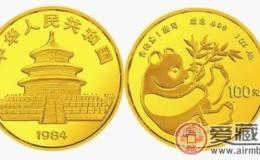 1984年版中国熊猫金币图片鉴赏