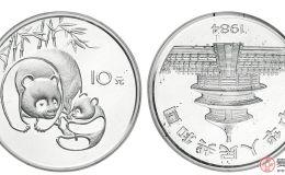 1984年版中国熊猫银币图片鉴赏