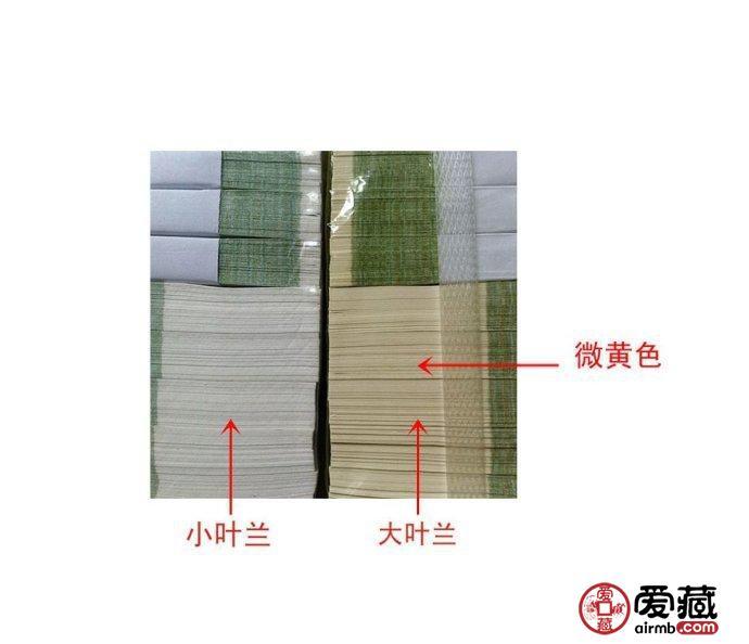 大叶兰和小叶兰——纸张辨别