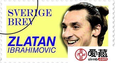 瑞典明年将发行伊布主题邮票