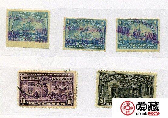 19世纪美国邮票