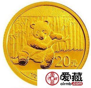 2014年熊猫币发行价同比去年下降
