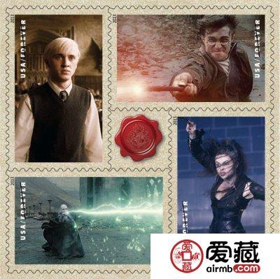 哈利波特系列邮票