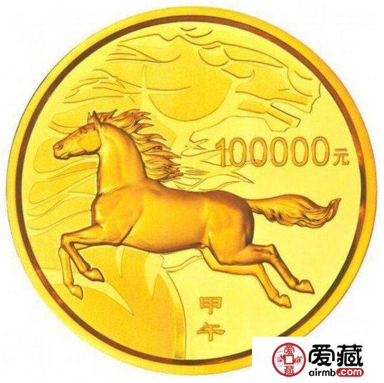 马年金银币身价大涨