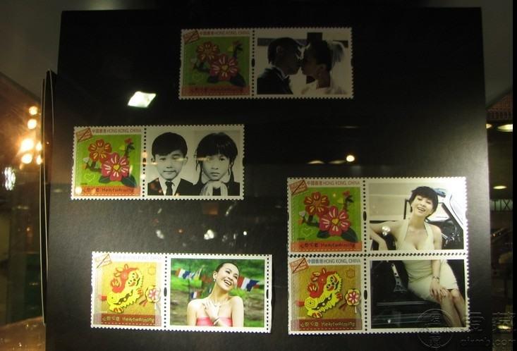 明星李嘉欣登珍藏版邮票