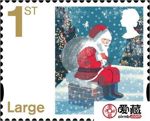 """""""圣诞节""""邮票"""
