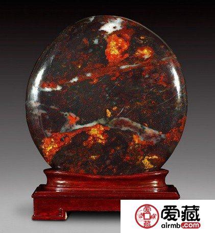 桂林鸡血玉石市场大热