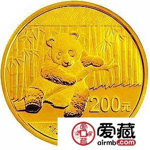 2014年熊猫金套币价格走低,成送礼佳品