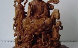 木雕佛像收藏潜力大