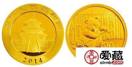 2014年熊猫金币初登市场,促销搞得火