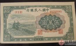 1950年50000元收割机价格逆袭