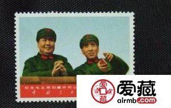 分析政治色彩浓重的文2蓝天邮票