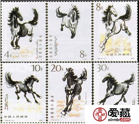 奔马邮票发行35年来其收藏价值不断攀升