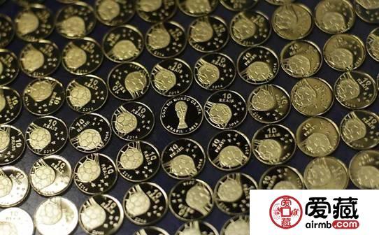巴西发行2014年世界杯纪念币
