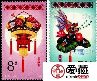 我国曾发行的元宵花灯主题邮票