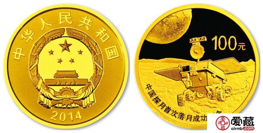 落月金银币物以稀为贵变身黑马