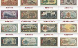 第一套人民币价格表图片详解