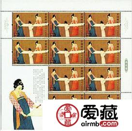 捣练图邮票价格图片怎么样