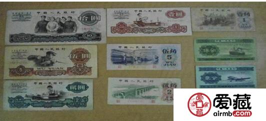 第三套人民币收藏价格表2014