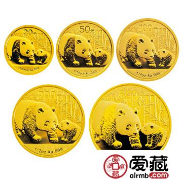 熊猫金银币价格及图片