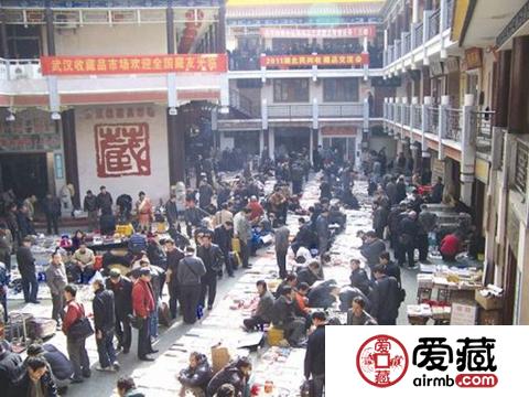 武汉钱币交易市场与图片介绍