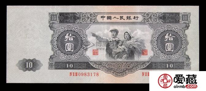 中国纸币收藏价格表和图片介绍