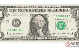 1美元12连体钞图片及价格