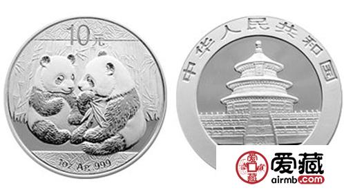 2009年1盎司熊猫银币图片和价格