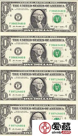 100美元连体钞最新图片价格