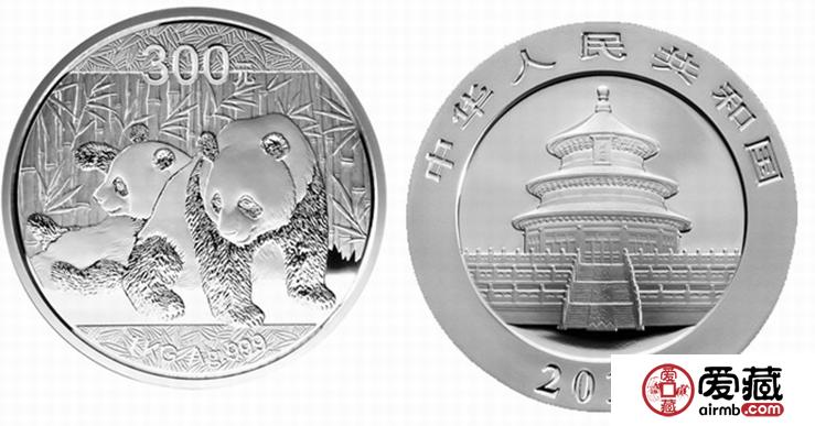 2010年熊猫银币图片和价格