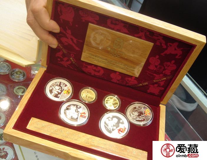 2008年金银纪念币图片和价格