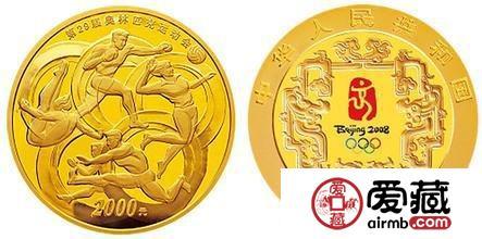 29届奥运会金银纪念币价格图片