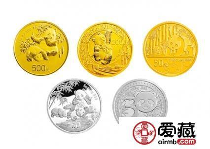 2013版熊猫金银纪念币价格