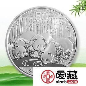 五盎司熊猫银币最新价格行情